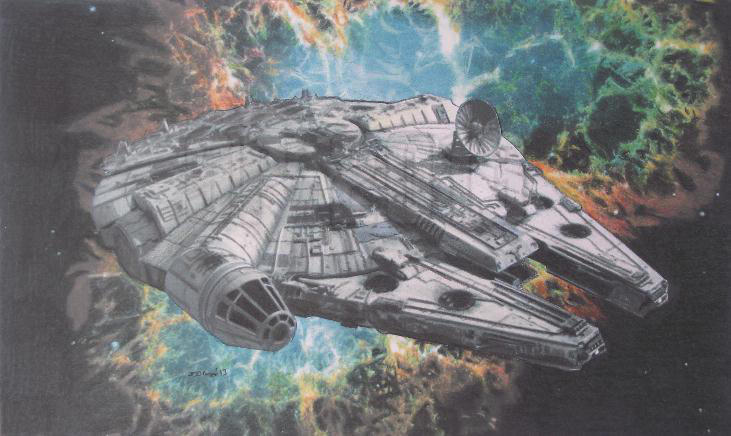 The Fastest Hunk Of Junk In The Galaxy. by Starfire-Productions