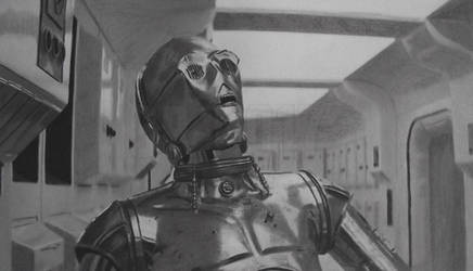 C-3PO (See Threepio) by Starfire-Productions