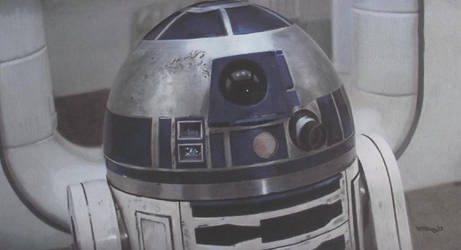 Speed Challenge 30: R2-D2 (Artoo-Detoo) by Starfire-Productions