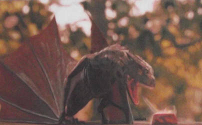 Game Of Thrones: Drogon by Starfire-Productions