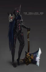 The Soulless One Character Concept by jeffchendesigns