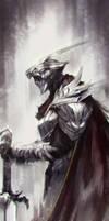 Fallen Knight by jeffchendesigns