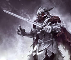 Death Knight sketch by jeffchendesigns