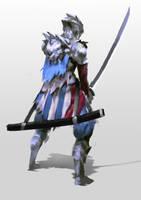 Samurai knight by jeffchendesigns