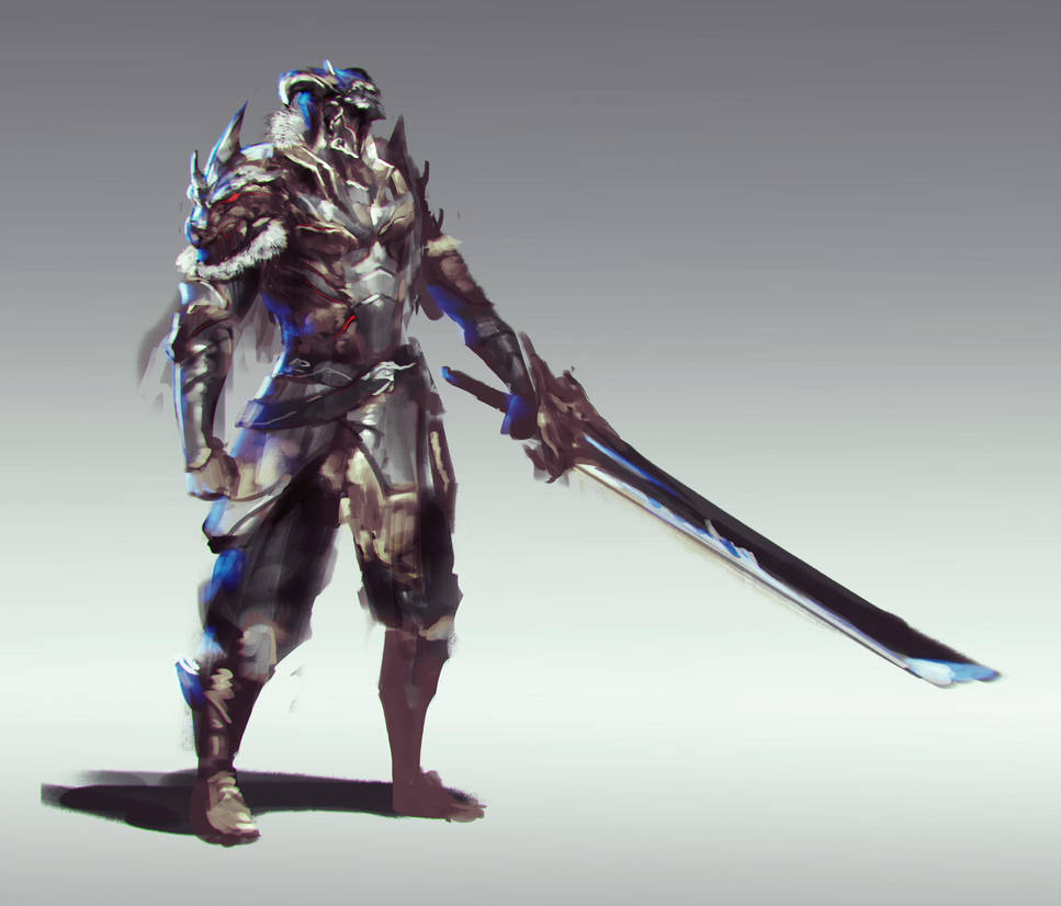 Dragon Knight by jeffchendesigns