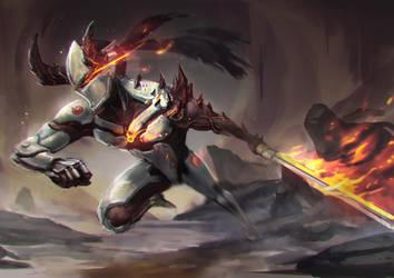 Demon Genji by jeffchendesigns