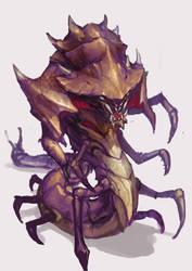 Zerg Creature by jeffchendesigns