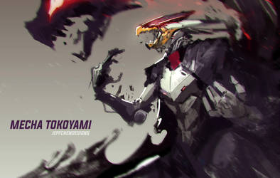 Mecha Tokoyami by jeffchendesigns