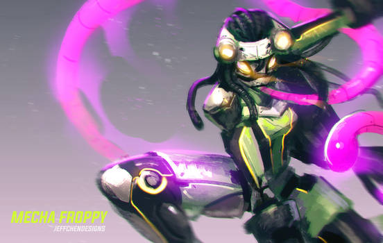 Mecha Froppy by jeffchendesigns