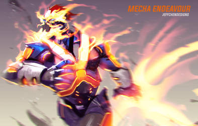 Mecha Endeavour by jeffchendesigns