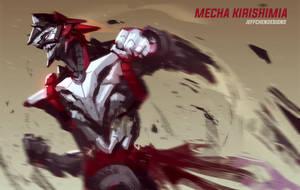 Mecha Kirishima by jeffchendesigns