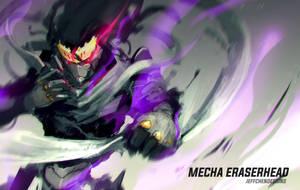 Mecha Eraserhead by jeffchendesigns