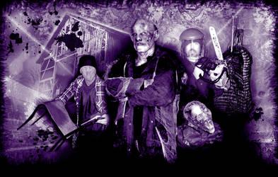 Eddie Machete and friends by BraineaterProduction