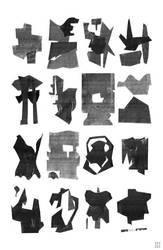 2D-Sculptures by deep