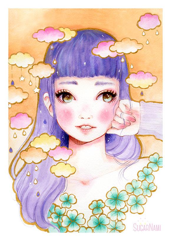 Dreamy Girl #1 by Sugar-Nami