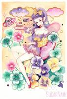Dreamy Fairy by Sugar-Nami