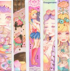 Miniature #2, 3, 4, 5 by Sugar-Nami