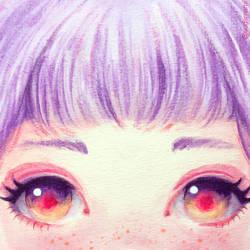 Dreamy eyes by Sugar-Nami