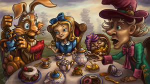 Mad tea party by Lady-DreamArt