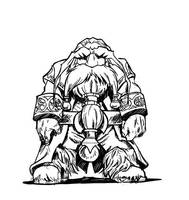 Old Dwarf Of the Council 03 by Tregis