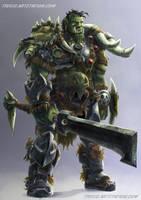 Orc-design by Tregis