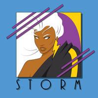 80's Storm by JSRPhoenix