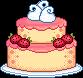 Spring Wedding Cake by sicara-deviant