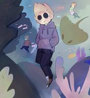 Underwater Tom - ((Eddsworld)) by MariChan03