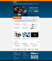 BizFolio Responsive Unique HTML Theme by brillianthemes