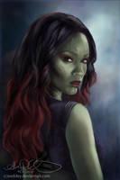 Gamora by Eeddey