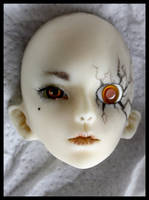 day 105 - broken doll face-up by Kaalii