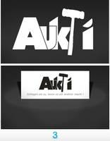 Logo - Aukti by 3ric-Design