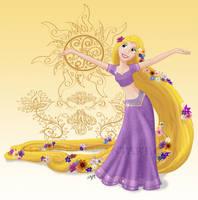Disney Dancers: Rapunzel by ZellyKat