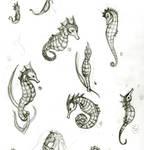 Dahli - Concept Sketches by ZellyKat