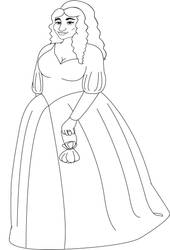 Sybil Sketch Full Lineart by stacieyates