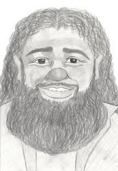 Hagrid Pencil Sketch by stacieyates