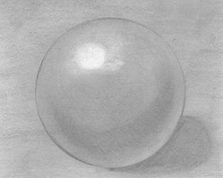 Ball Sketch Graphite by stacieyates