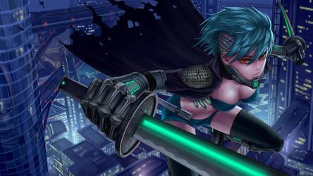 Jane Doe Sci-Fi by Sciamano240