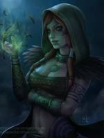 The Morrigan Woodland Rogue (Patreon reward) by Sciamano240