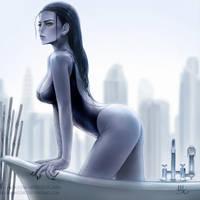 Widowmaker - Overwatch (Patreon reward) (2v) by Sciamano240