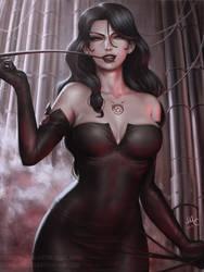 Lust - Fullmetal Alchemist (3v) by Sciamano240