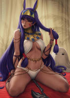 Nitocris - Fate Grand/Order (2v) by Sciamano240