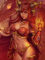 Alexstrasza - WoW by Sciamano240