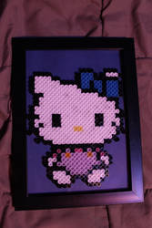 Hello Kitty Perler Framed by Tony009
