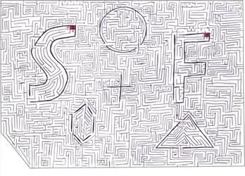 Maze 1 by Nebagram