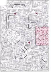 Maze 2: Lots of red arrows by Nebagram