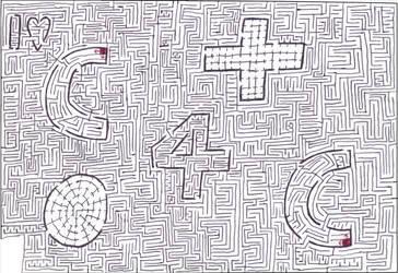 Maze 9- Subliminal Message by Nebagram