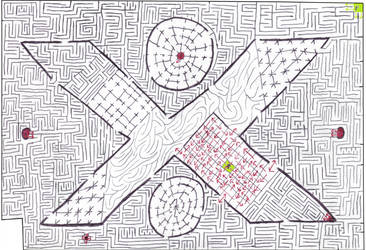 Maze 10- The X Factor by Nebagram