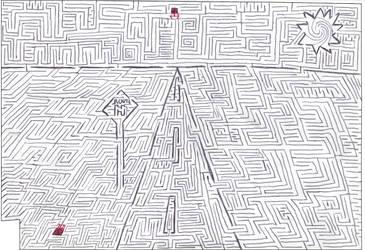 Maze 11- Vanishing Point by Nebagram