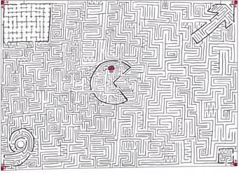 Maze 12- Four corners by Nebagram